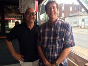 Tinker Street owners Peter George, left, and Tom Main, will open another restaurant next year.