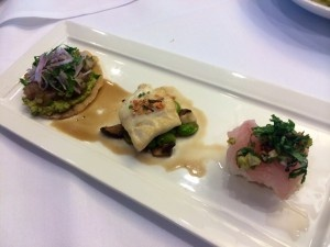The wining dish at the Seafood Nutrition Partnership challenge from Greg Hardesty of Recess.