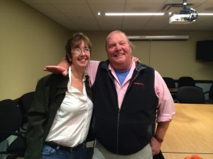 I got the chance to inteview Mario Batali recently at Market District in Carmel.