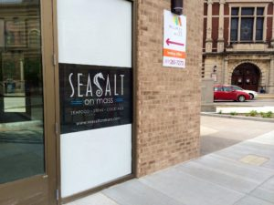 Sea Salt will open soon on Mass Ave.