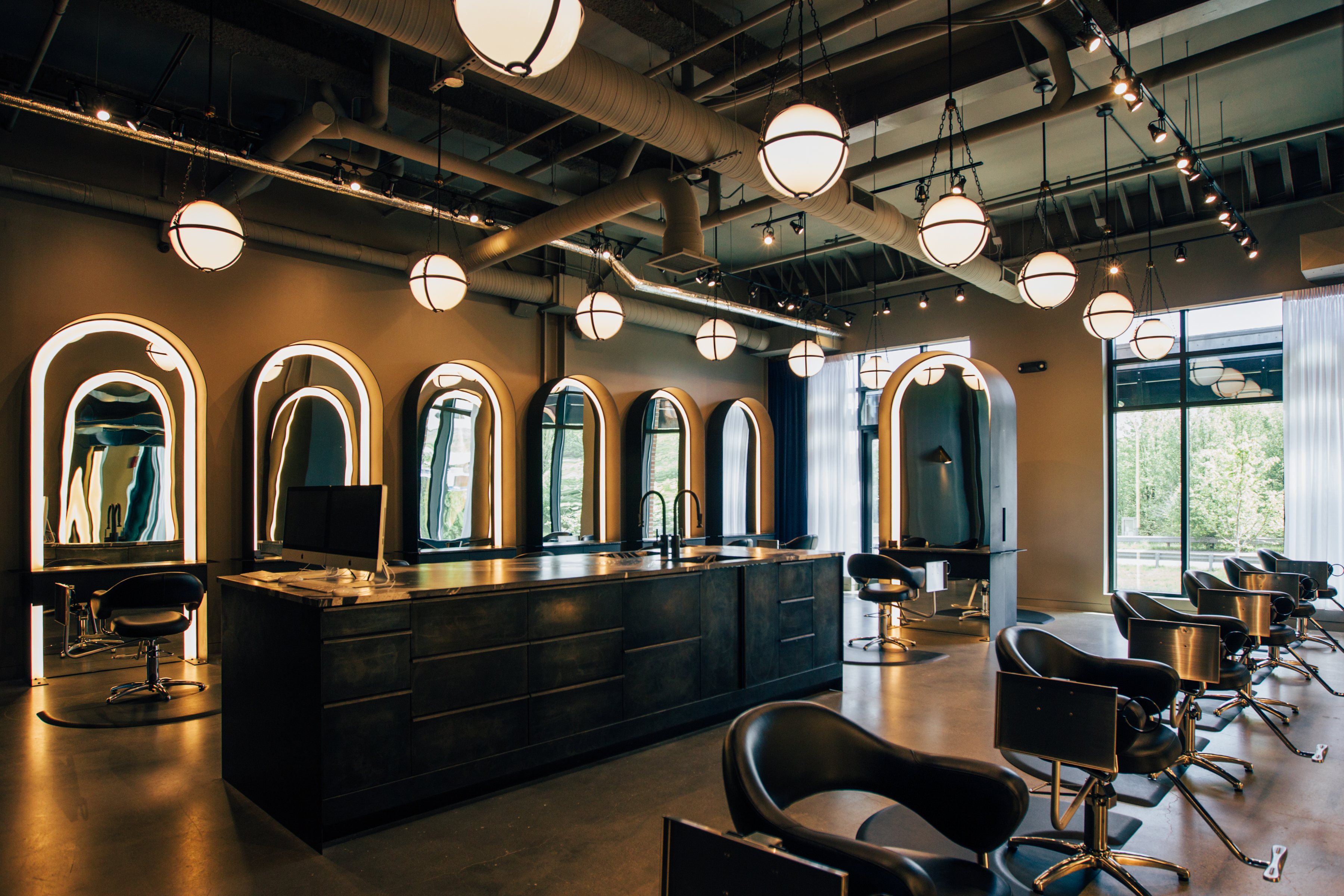 salon hair michael salons interior indianapolis styling beauty stations gmichaelsalon indiana cool spa unisex