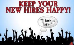 keep new hires happy