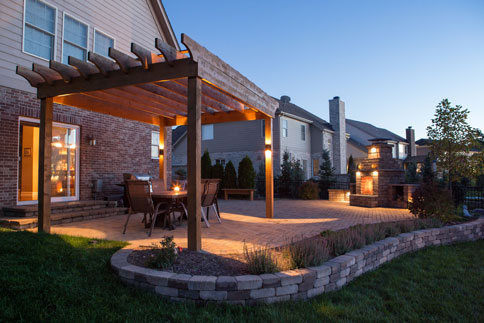 pergola - Patios And Pergolas Cutting Edge Hardscapes