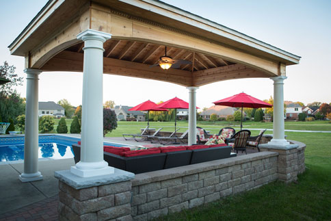 pergolas · patio - Patios And Pergolas Cutting Edge Hardscapes