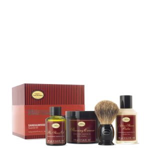 Sandalwood Full Size Kit with Pure Shaving Brush