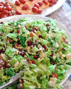 Autumn Chopped Salad - G Michael Salon