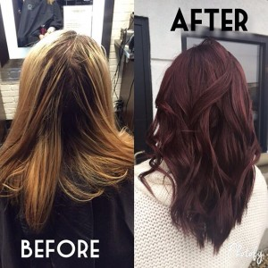 Beautiful Hair Color Created by G Michael Salon in Indianapolis