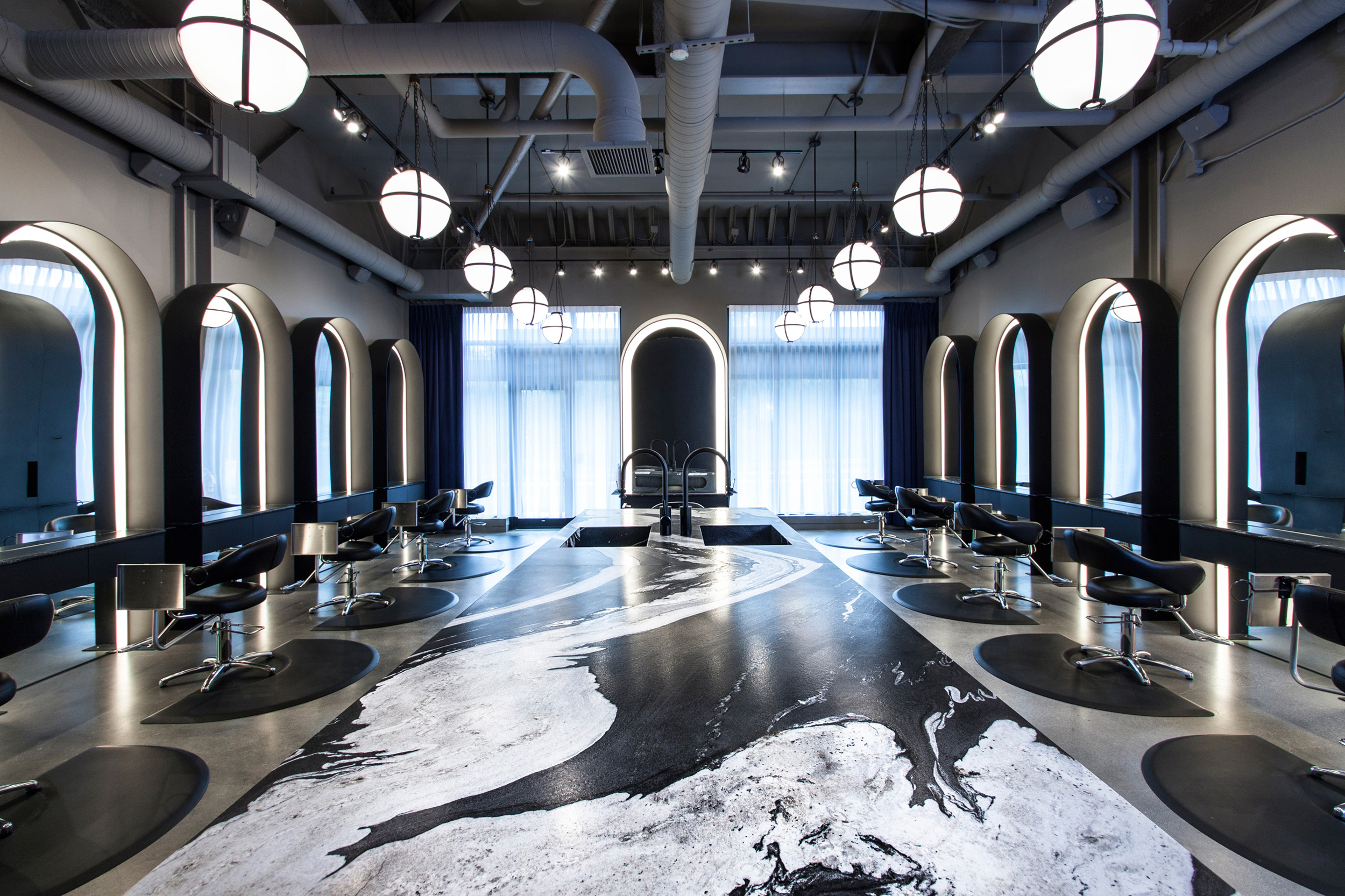 Indianapolis oribe exclusive hair salons g michael salon for Salon designer online