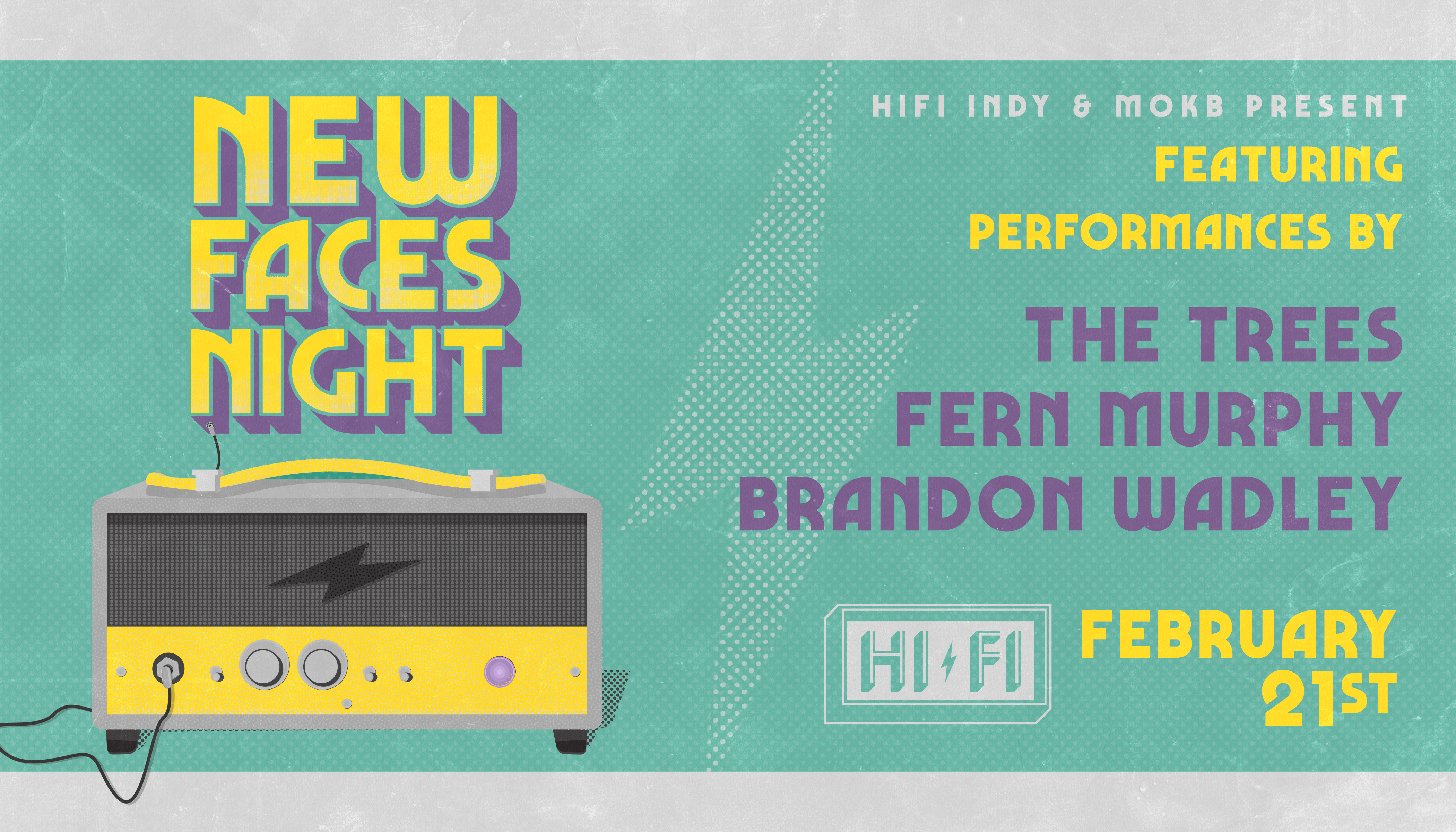 New Faces Night at HI-FI February 2019