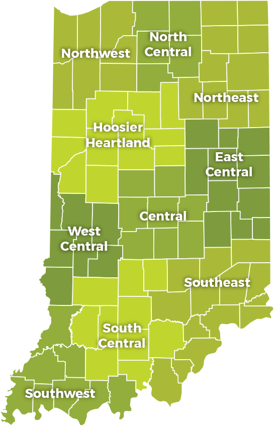 Central Indiana Map.Workshops Events Indiana Small Business Development Center
